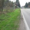 strada senza marciapiede